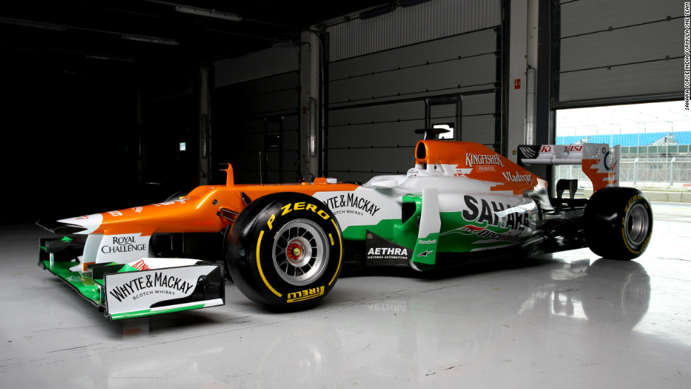 The Indian-owned team will hope to build on last season's respectable sixth-place finish. Force India will be counting on the skills of drivers Paul di Resta of Britain and Germany's Nico Hulkenberg.