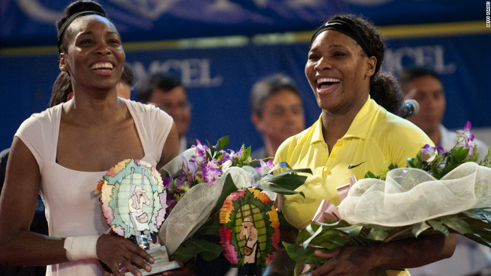 Although Venus has not played competitively, she did face off against Serena in an exhibition match in the Colombian city of Medellin in November. Venus defeated her younger sister 6-4 7-6 (7-5).