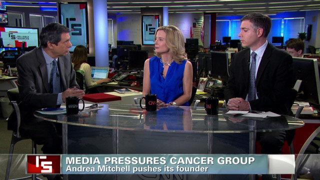 Media pressures cancer group