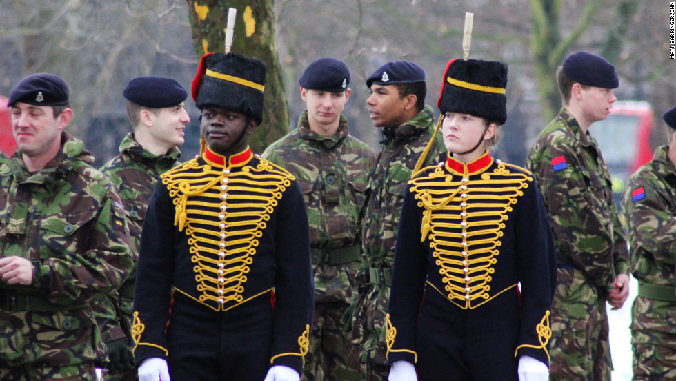 The King's Troop are trained as fighting soldiers, six of whom are deployed in Afghanistan at any one time.