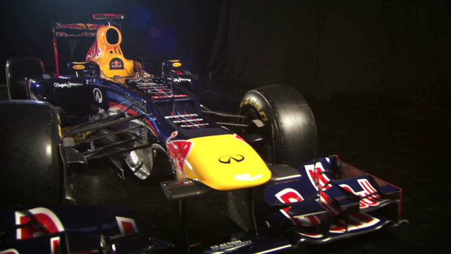 Red Bull unveils 2012 car