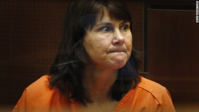 The murder trial of former police detective Stephanie Lazarus, pictured at a 2009 arraignment, began this week in Los Angeles.