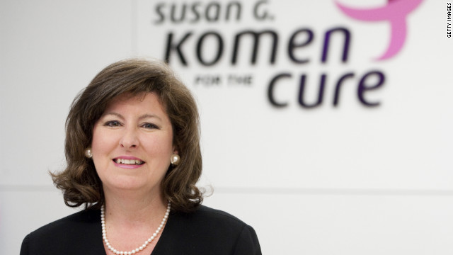 UNITED STATES -- APRIL 27: Karen Handel, former Secretary of State in Georgia, is now the senior vice president of public policy for the Susan G. Komen for the Cure. (Photo By Bill Clark/Roll Call)