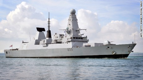 Britain's high-tech destroyers losing power