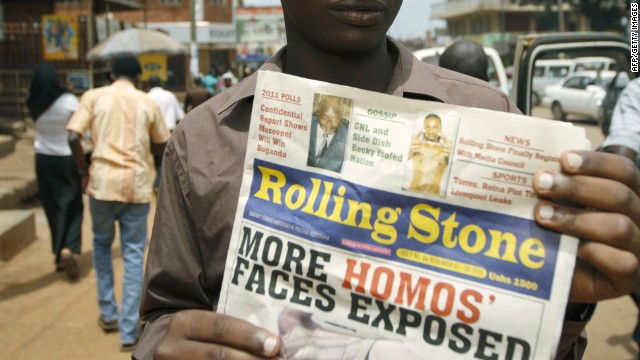 Gay and afraid in Uganda
