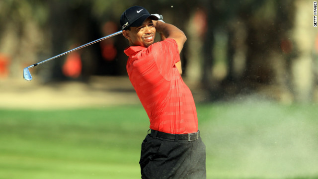 Tiger Woods has not won one of golf's four majors since the 2008 U.S. Open at Torrey Pines.