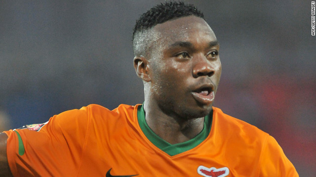 Emmanuel Mayuka scored the only goal as Zambia shocked Ghana in the Africa Cup of Nations semifinals.