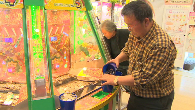 Japan's retired gamers