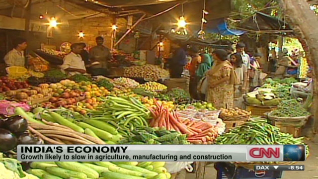 Slow growth predicted in India