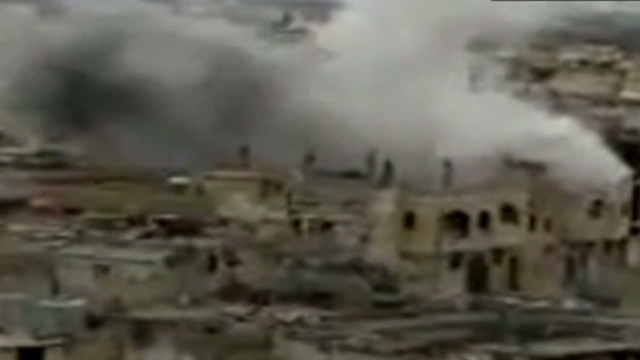 Homs residents: Strikes come from afar