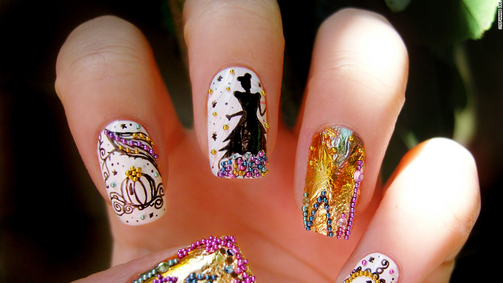 Nail art enjoys a huge following among DIYers like Stephanie Lee, a recent college graduate who sells her work on Etsy while looking for a job.