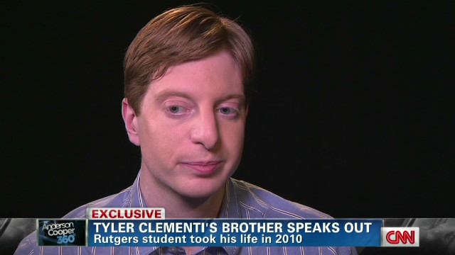 Tyler Clementi's brother speaks out