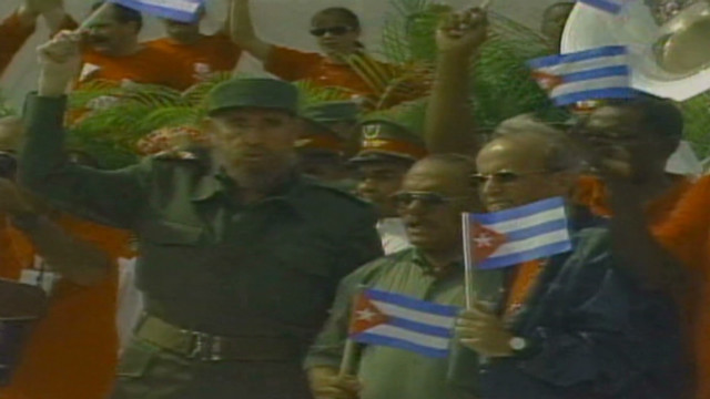 February: Fidel Castro's return