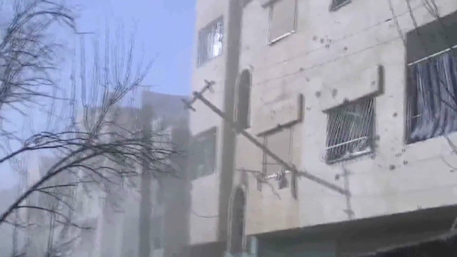Wounded Homs activist pleads for help