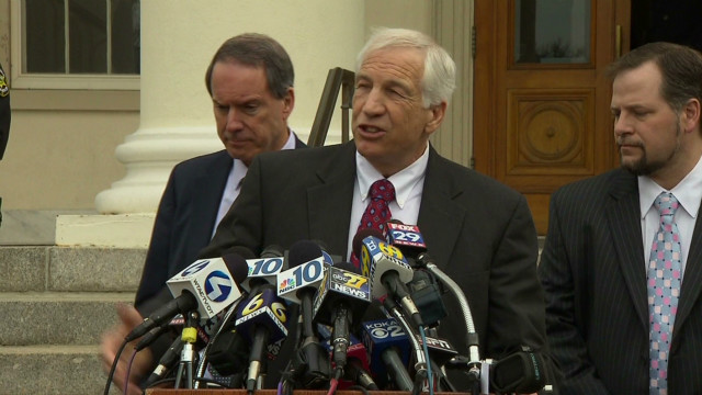 Former Penn State assistant football coach Jerry Sandusky has been under house arrest since December.