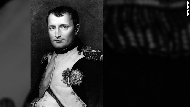 Napoleon Bonaparte wrote the letter after he was defeated and exiled to a British island to live under military guard.
