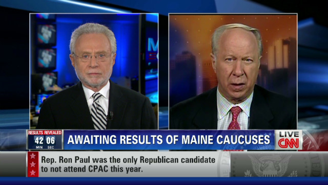 Gergen: CPAC win a 'psychological boost'