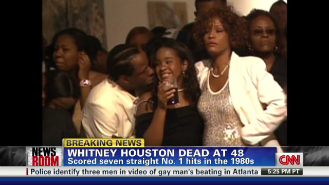 Whitney Houston seemed 'in good spirits'