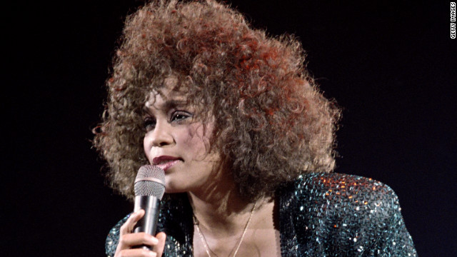 The late Whitney Houston performs in Paris in 1988, when she was at the top of her game.