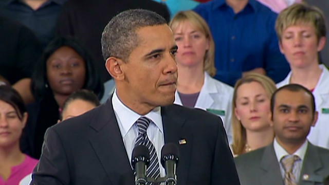 Obama: Keep progress on track