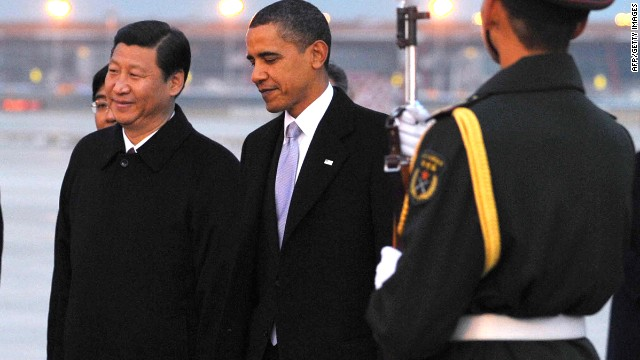 File photo of President Barack Obama meeting then-Vice President Xi Jinping in 2012.