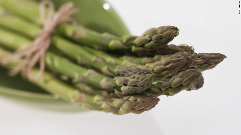 Asparagus is one of the best veggie sources of folate, a B vitamin that could help keep you out of a slump.