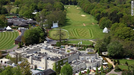 Wentworth stages the European Tour's PGA Championship each May.