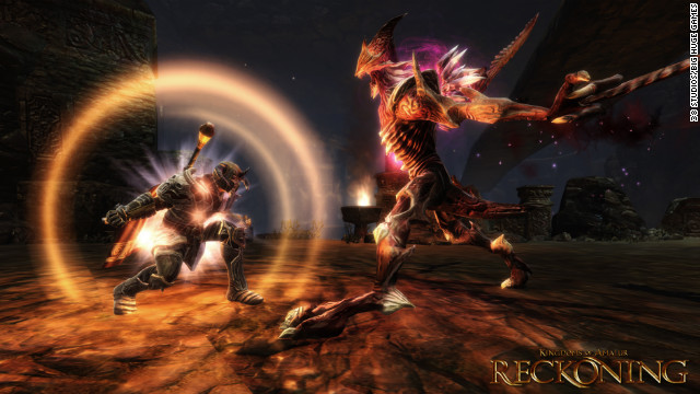 "The makers of ""Kingdoms of Amalur: Reckoning"" tried to create a role-playing game with an action game inside."