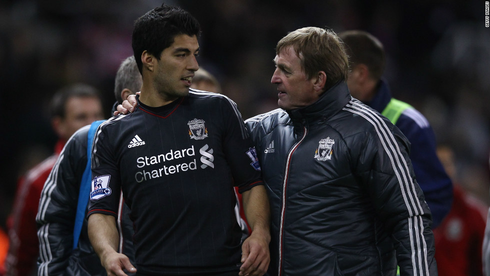 Liverpool's then manager Kenny Dalglish stoutly defended Suarez during the controversy, and it was seen as one of the factors in the club legend losing his job after the 2011-12 season.