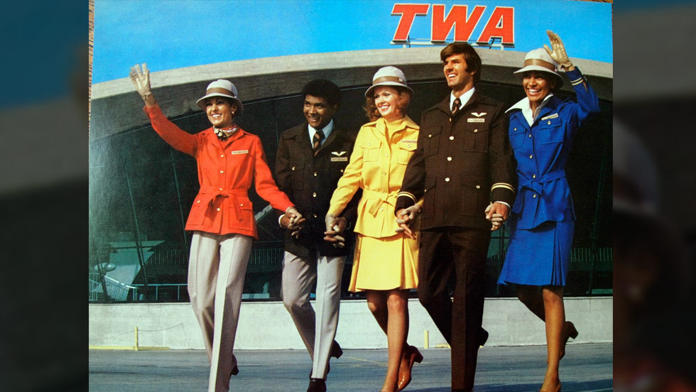Herman's style for now-defunct airline TWA.