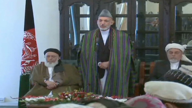 Taliban: Won't talk peace with Karzai