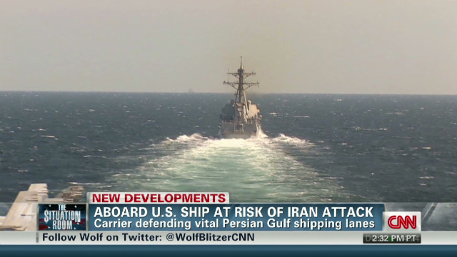 exp Aboard U.S. ship at risk of Iran attack_00002001