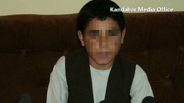 Children trained for suicide attacks