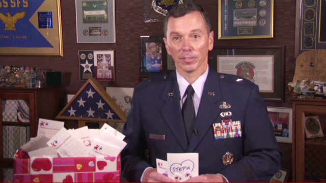 Make the military your Valentine