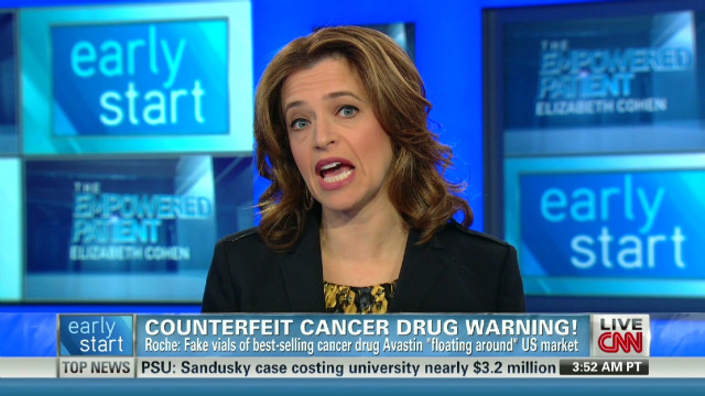 Counterfeit cancer drug warning