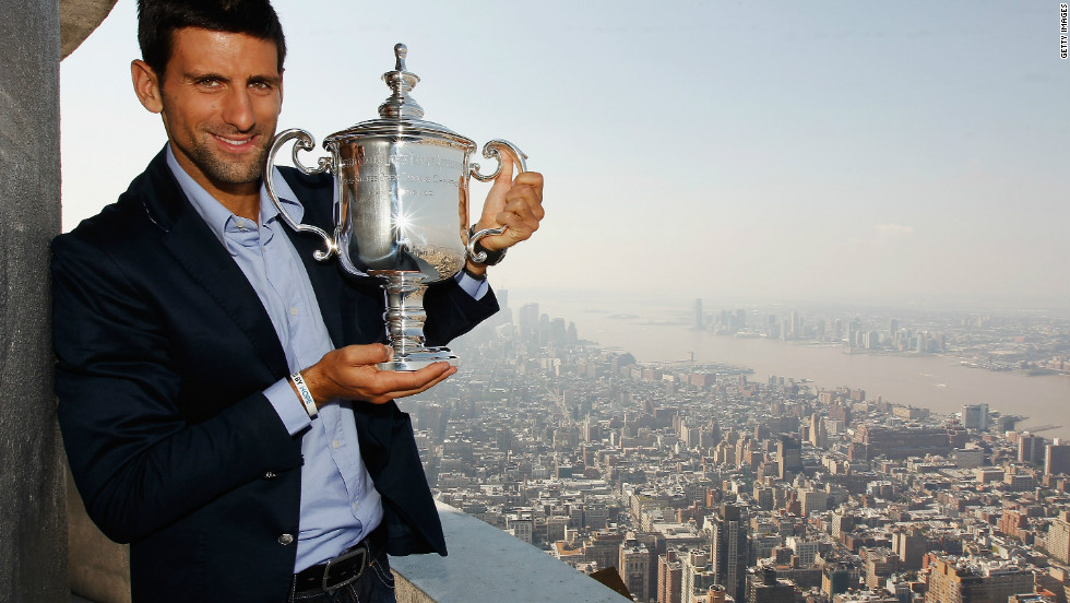 Djokovic's incredible year continued when he claimed 2011's final grand slam, the U.S. Open. Once again it was Nadal who stood in his way, but Djokovic battled to another four-set triumph.