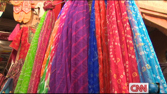 Solar energy for India's colorful silks