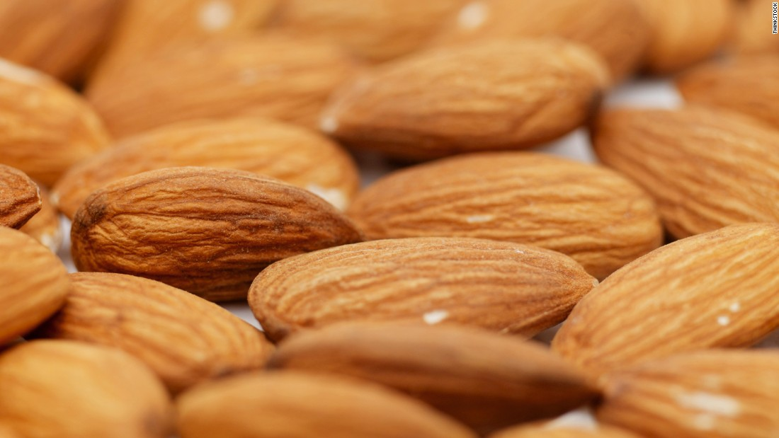 "Extra plant protein found in soy or in nuts like almonds. <a href=""http://www.nature.com/ijo/journal/v27/n11/full/0802411a.html"" target=""_blank"">Earlier studies</a> have shown unsalted almonds can help you lose weight by giving you an energy boost, blocking the body's absorption of fats and suppressing your appetite in the process, Zinczenko says."