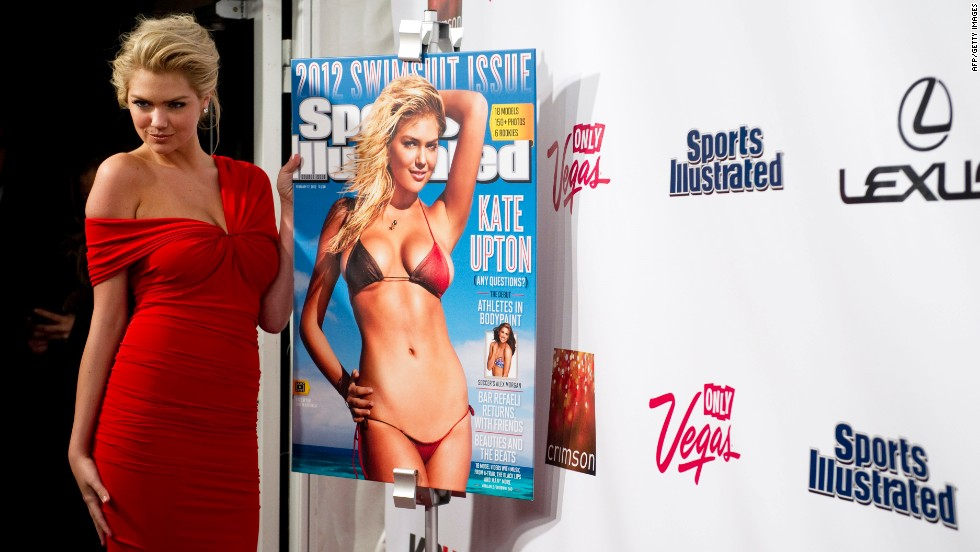 "Kate Upton went from (relative) obscurity as a model to the coveted gig of Sports Illustrated swimsuit cover girl after she uploaded a video of herself doing a bouncy version of ""The Dougie"" at an L.A. Clippers game.  It quickly went viral, and her path to fame was set. Her 190,467 Twitter followers haven't hurt either."