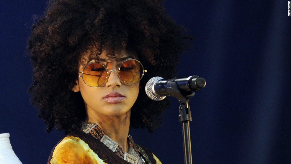 "Andy Allo is a Cameroonian singer and guitarist who's now based in the United States. She has performed with Prince and produces what she describes as ""alter-hip-soul."""