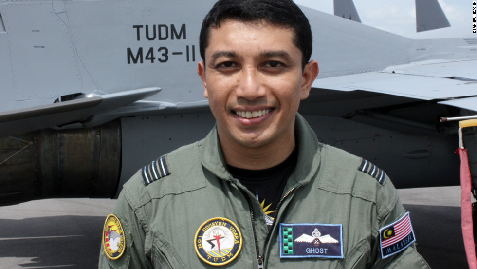 """Ghost"" of the Malaysian Air Force crashed his fighter jet in a training accident."