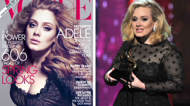 Adele Vogue cover stirs controversy