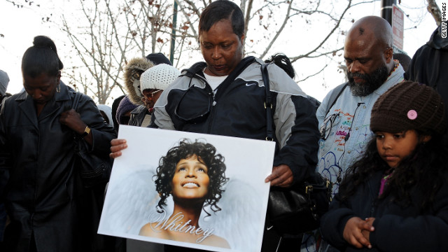 Whitney Houston flag controversy