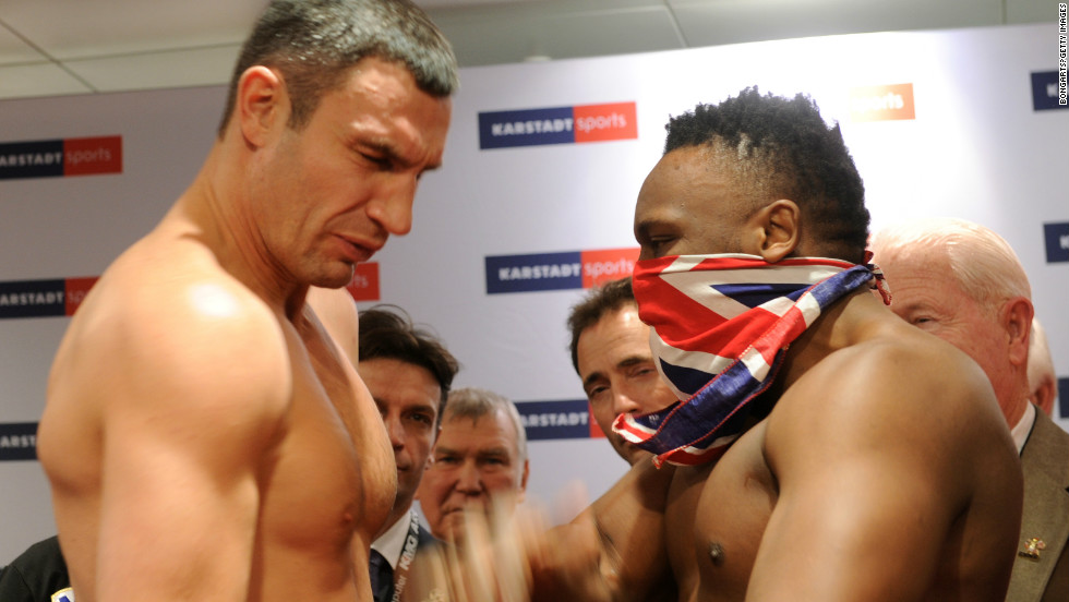 Chisora had sparked controversy when he slapped Klitschko at the weigh-in ahead of their fight, and spat water at the Ukrainian's fellow world champion brother Wladimir. He subsequently lost his boxing license.