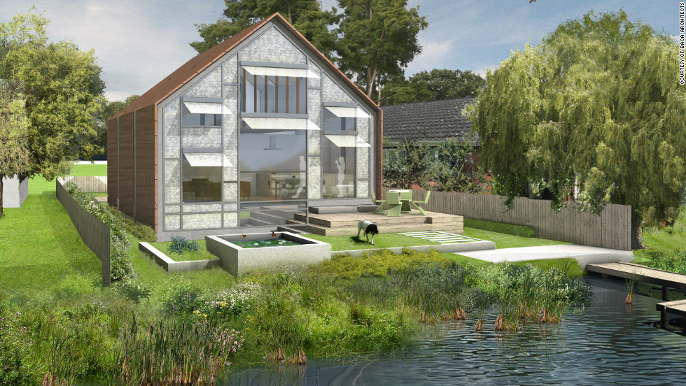 "An ""amphibious house"" design was recently granted planning permission and will be the first house of its kind in the UK."