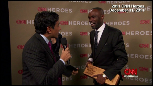 Soap hero honored