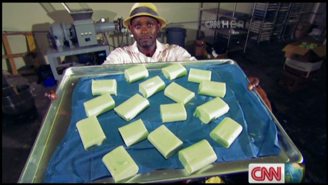 Recycling soap to save lives
