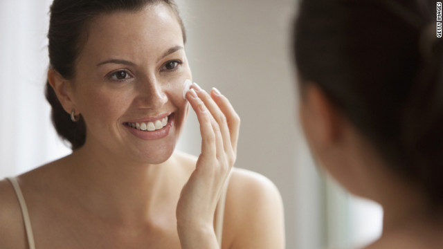 Apply sunscreen each morning and a retinoid at night to repair and protect your skin.