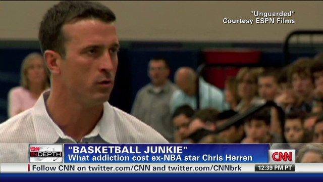 'Basketball junkie' shares story of loss