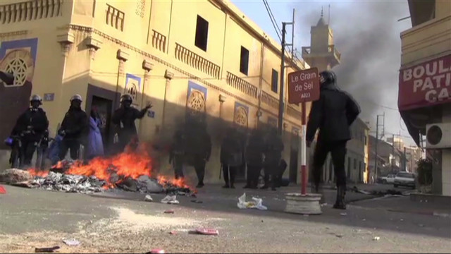 Protesters, police clash in Senegal